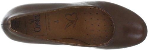 Caprice CAPRICE 9-9-22403-29 - Zapatos clásicos de cuero para mujer Marrón (Braun (COGNAC 305))