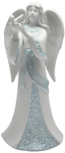 Appletree Design 33257 Angel Holding Dove Figurine, 7-1/8-Inch by Appletree Design