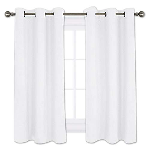 Cheap  NICETOWN Draperies Curtains Panels, Blocking Out 50% Sunlight Window Treatment Curtains, Grommet..