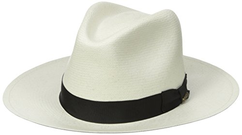 - Scala Men's Grade 8 Panama Safari Hat, Bleach, Small