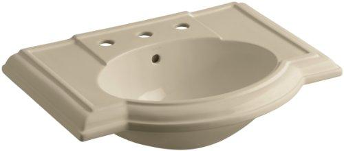 KOHLER K-2295-8-33 Devonshire Bathroom Sink Basin with 8
