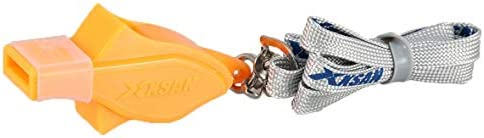 Metal Whistle Stainless Steel Extra Loud Lanyard Lifeguard Protection ND