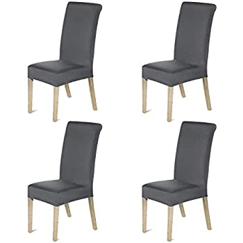 Amazon Com Stretch Dining Room Chair Slipcovers Spandex