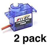 #2: Feetech FS90R Continuous Rotation 9g Micro Servo (2 pack)