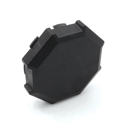 CPOWACE 4-Pack Hub Caps Wheel Center Caps For Polaris RZR 900 1000 XP 4 1522216-655 (Black): Automotive