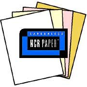 125 Sets of 4 Part Letter Size Straight Collated NCR Paper - 01924, Appleton by NCR®