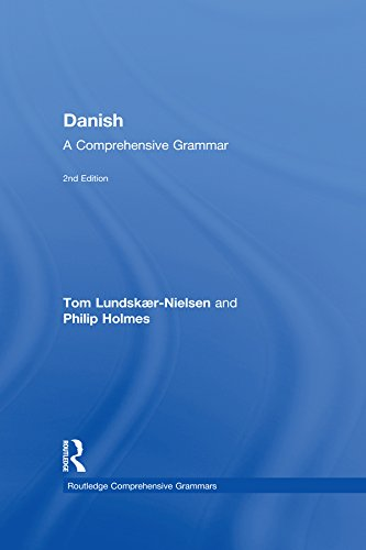 Danish  A Comprehensive Grammar  Routledge Comprehensive Grammars   English Edition