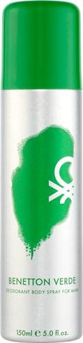 Spray Deodorant Benetton - United Colors of Benetton Deodrant Spray, Verde, 5 Ounce