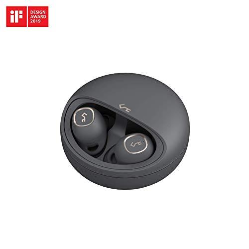 AUKEY 完全ワイヤレスイヤホン 24時間再生可能 Bluetooth 5.0 高音質 Bluetoothイヤホン 自動ペアリング 自動ON/OFF ブルートゥースイヤホンタッチ式 軽量 マイク付き 音声アシスタント対応 USB-C & Qiワイヤレス充電対応 IPX5防水 2年間安心保証 技適認証済み Key Series EP-T10