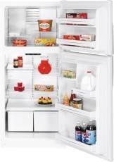 Ge GIDDS-632132 Energy Star 18 cu. ft. Top Freezer Refrigerator, White, Reversible Door Swing by GE