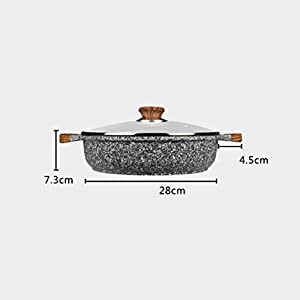 Maifan stone non-stick frying pan pan steak induction cooker gas available pot 28cm