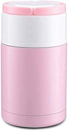 蒸し保温弁当箱大容量ポータブルスチール真空ポリッジポット保温弁当箱純色保温カップ