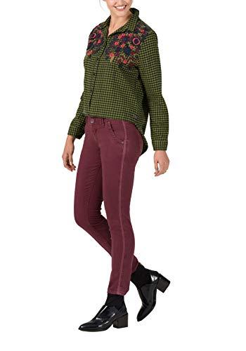 Slim Rosso 5050 merlot Timezone Pantaloni Donna Nalitz Red IdqwaR