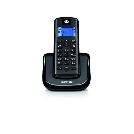 Motorola T201I Digital Cordless Phone - Black