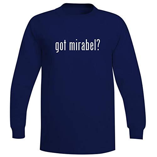 The Town Butler got Mirabel? - A Soft & Comfortable Men's Long Sleeve T-Shirt, Blue, Medium