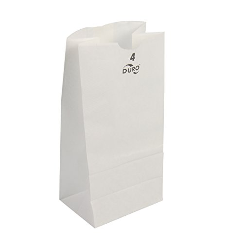 Duro ID# 51004 4# SOS Bag 30# White 500pk  5 x 3-1/3 x (White Grocery Paper Bag)