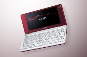 ソニー(VAIO) VAIO typeP P70H HomeBasic ワンセグ ガーネットレッド VGN-P70H R