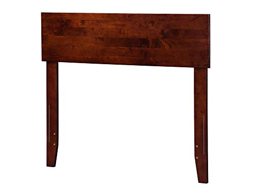 Twin Headboard Size Cherry (Atlantic Furniture R-181824 Orlando Headboard, Twin, Walnut)