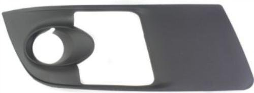 DAT AUTO PARTS Fog Hole Bezel Replacement for 2007-2010 Saturn Outlook Right Passenger Side Black GM1039107 ()