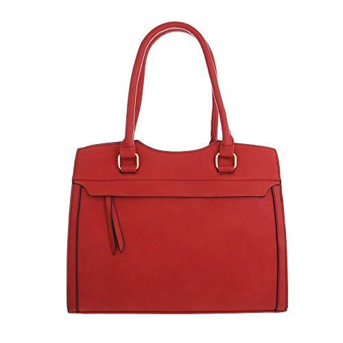 Ital-Design , Sac pour femme à porter à l'épaule Rouge rouge One Size