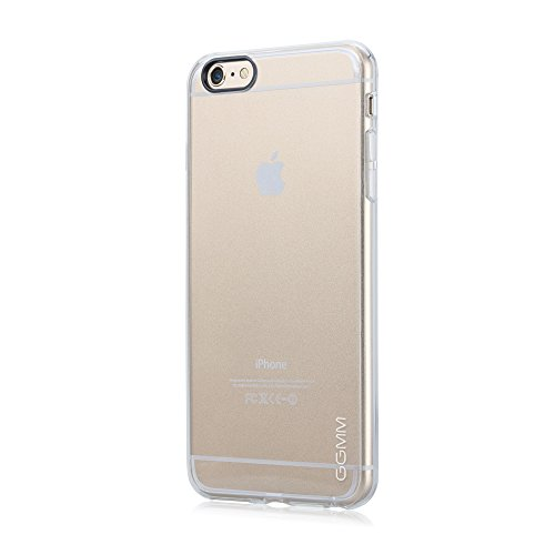 GGMM Pure Shell-A6 Clear TPU Case mit Screen Protector für Apple iPhone 6 crystal