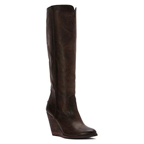 Tall Frye Boot costura de mujeres CECE Pizarra Xxw4zIxr