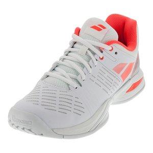 Babolat–Zapatillas de tenis Propulse Team All Court–(Blanco/Rojo Claro) Weiß