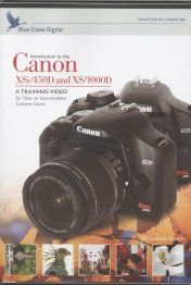 Canon XSi / 450D and XS / 1000D Blue Crane DVD for New to Intermediate Camera Uers - Tutorial DVD (incl. Spanish subtitle) (Xsi Dvd)