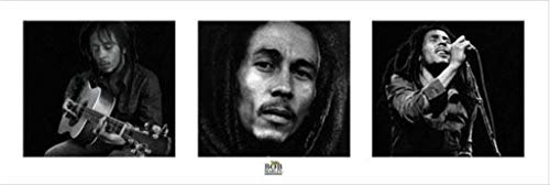 Buy bob marley art black and white