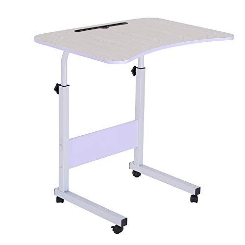 - GXOK Simple Laptop Desk Bed with Desktop Home Removable Lazy Lift Bedside Table Desk [Ship from USA Directly]