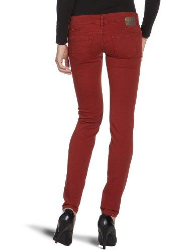 Gang - Vaqueros skinny / slim fit para mujer Rojo (1185 brick red)