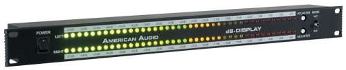 American Audio Db Metersoundactivated Rack Light