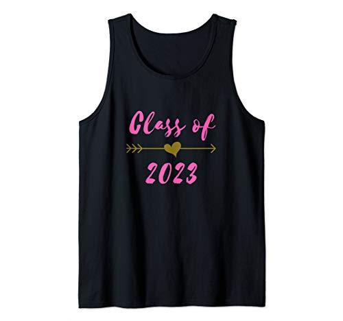 Cute Class of 2023 Boho Arrow 8th Grade Graduate Gift Tank Top -