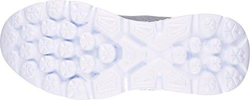7 Go Sole Run Gray Blue Womens Sneakers W Skechers 400 8OgfwnBwq