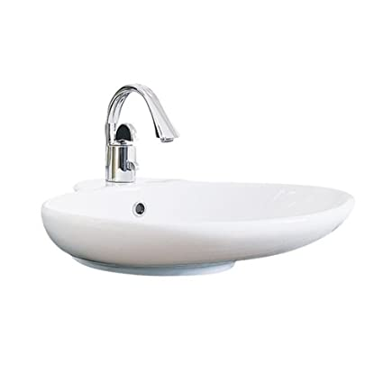 Genial Porcher 15061 11.001 Kyomi Above Counter Lavatory Sink With Arcato  Monoblock Faucet, Polished Chrome