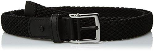 Nike - Cinturón elástico para mujer, Negro, S