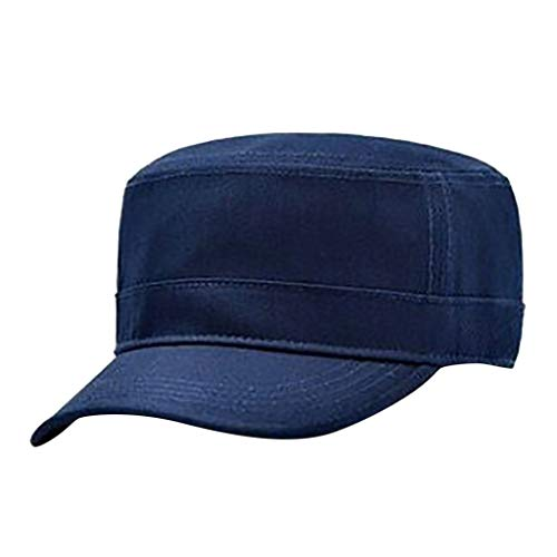 FACAIAFALO Fashion Outdoor Unisex Sports and Leisure Cotton Solid Color Light Board Cap Visor