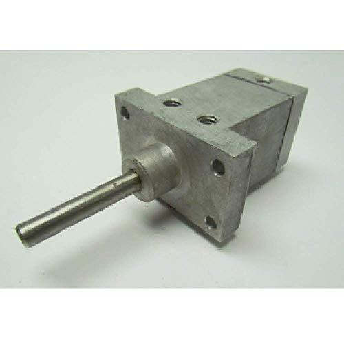 Stilson 38112-L Pneumatic Rota-Clamp, Left Hand Helix, Miniature, Flange Mount