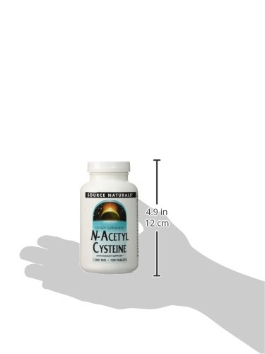 Source Naturals N-Acetyl Cysteine 1000mg , 120 Tablets - 2 pack by source naturals (Image #5)