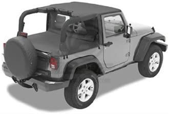 Bestop 90012-35 Duster Deck Cover Fits 2003-2006 Jeep Wrangler Black Diamond