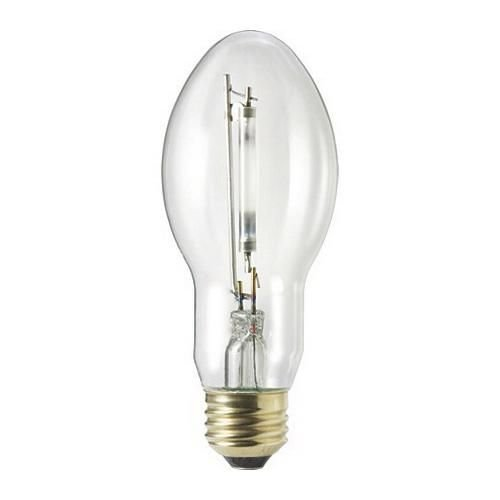 Philips Lighting 344465 BD17 High Pressure Sodium Lamp 100 Watt E26 Medium Base 8550 Lumens 21 CRI 2100K Ceramalux Non-Alto