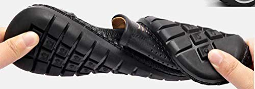 Black Uomo Hole Femaroly Slippers 40 qvEnwSA