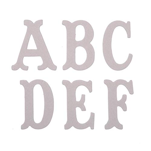 - Darice Bulk Buy DIY Chipboard Letters 3 inches 26 Pieces (6-Pack) 1208-72