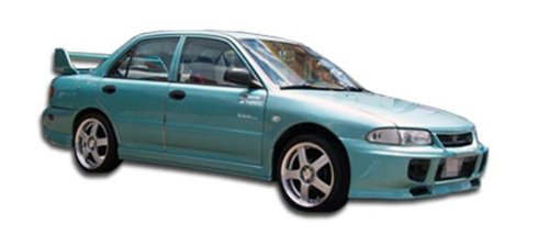 1993-1996 Mitsubishi Mirage 4DR Duraflex Evo Side Skirts Rocker Panels - 2 Piece (Clearance) (Mitsubishi Mirage Panel)