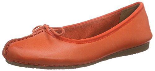 Clarks Freckle Ice - Mocasines para mujer Rojo (Grenadine Lea)