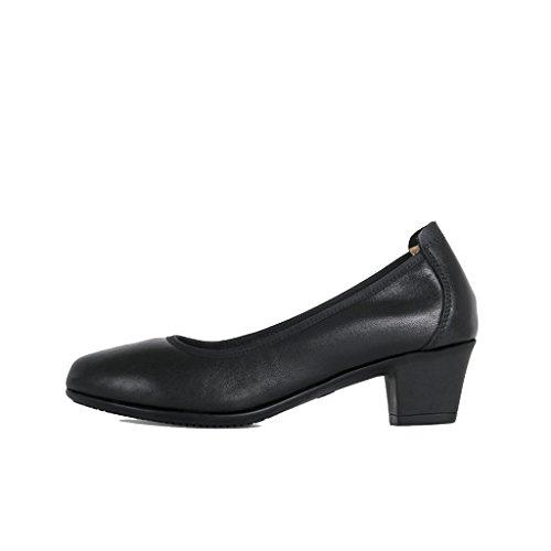 ALUK- Damenschuhe / Arbeitsschuhe / schwarz / spitz / weich besohlte Schuhe / rauh mit / bequem / professionelle...