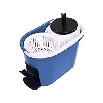 5f6c8e0b0ac Amazon.com: 360 Degree Spin Mop & Spin Dry Bucket - In Green and ...