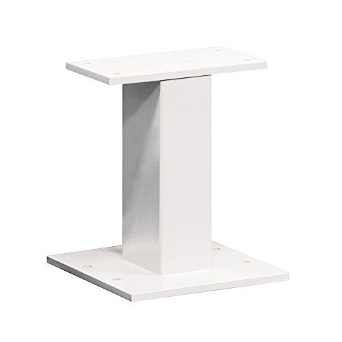 Cbu Pedestal - Salsbury Industries 3385WHT Replacement Pedestal for CBU Number 3316, CBU Number 3313 and OPL Number 3302, White by Salsbury Industries