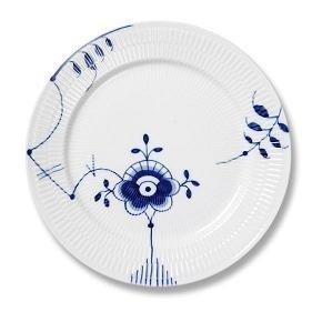 Fluted Mega Dinner Plate (Royal Copenhagen Blue Fluted Mega Dinner Plate #6 by Royal Copenhagen)