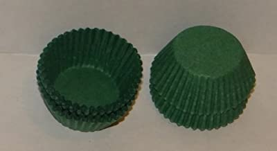 #4 Green Paper Candy Cup Cups 200 Pack Candy Making Supplies